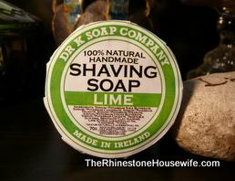 Dr. K Soap Company Lime Shaving Soap