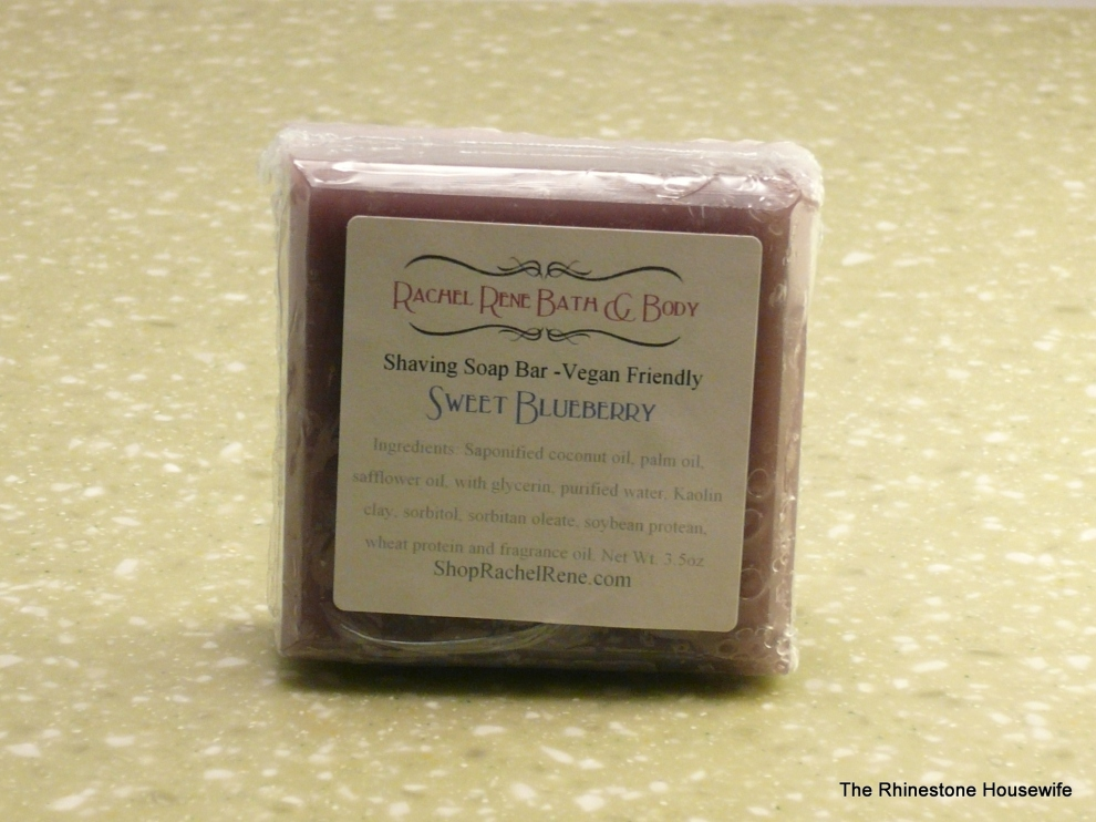 Rachel Rene Sweet Blueberry Shaving Soap