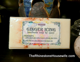 Ginger Icing Soap