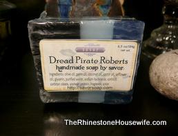 Dread Pirate Roberts Soap