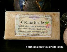 Creme Brulee Soap