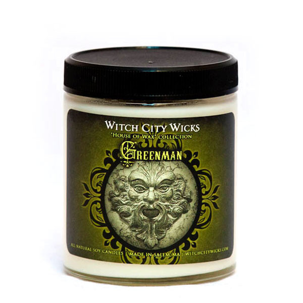 Green Man Candle