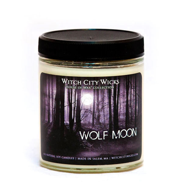 Wolf Moon Candle