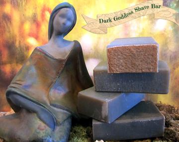 Dark Goddess Shave Soap