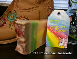 Unicorn Poop Soap