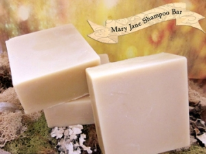 Mary Jane Shampoo Bar