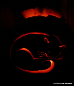 Carve #1 - Sleepy Kitty