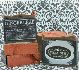 Villainess Gingerleaf Soap