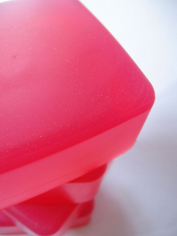 The Blushing Heart Glycerin Soap