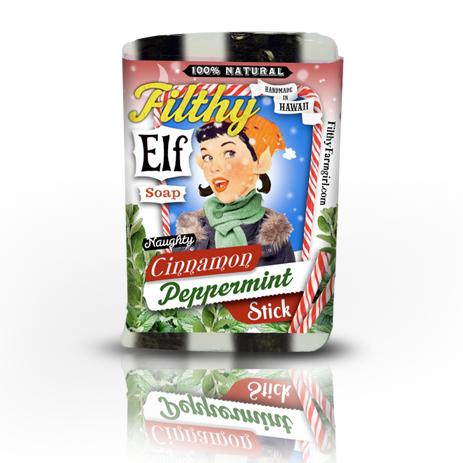 filthy elf cinnamon soap