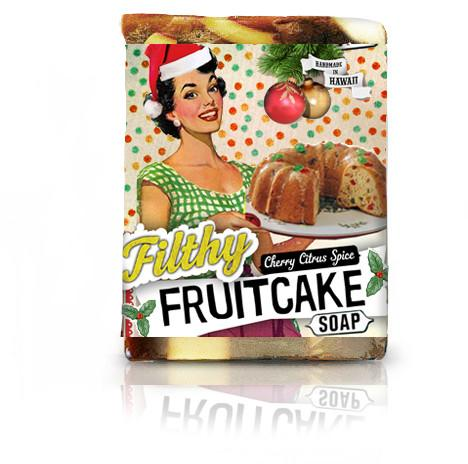 Filthy fruitcake soap
